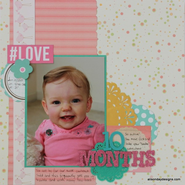 10 Months by Alison Day Designs