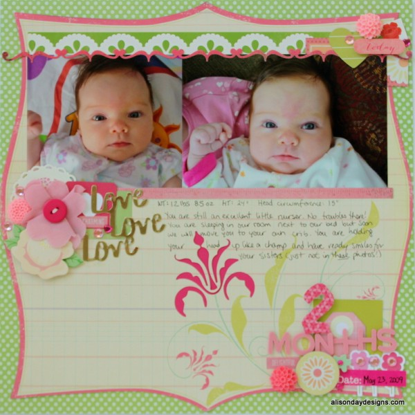 2 Months by Alison Day Designs