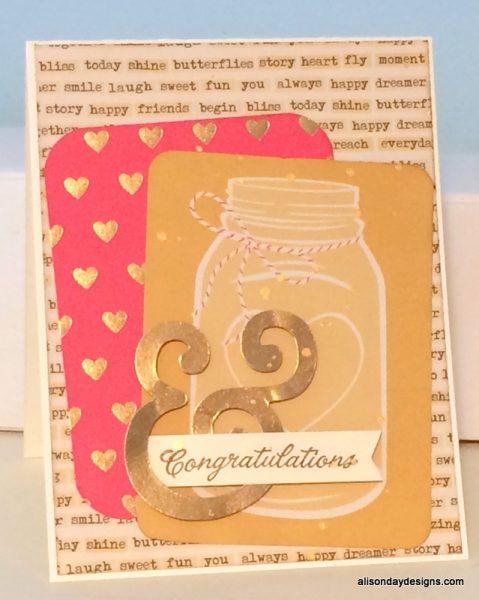& Congratulations by Alison Day Designs