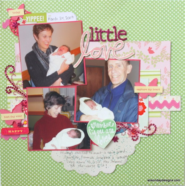 Little Love by Alison Day Designs