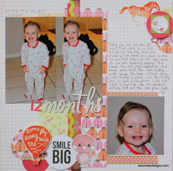 12 Months by Alison Day Designs