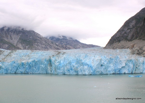 Dawes Glacier in Endicott Arm