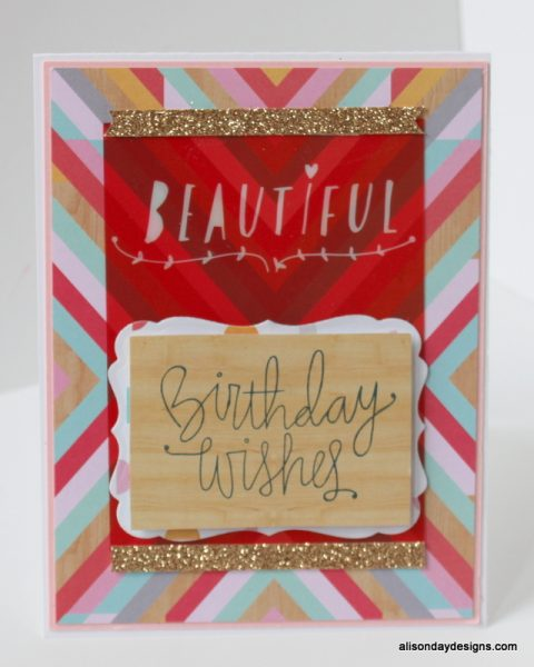 Beautiful Birthday Wishes by Alison Day Designs