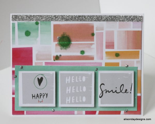 Hello Smile! by Alison Day Designs