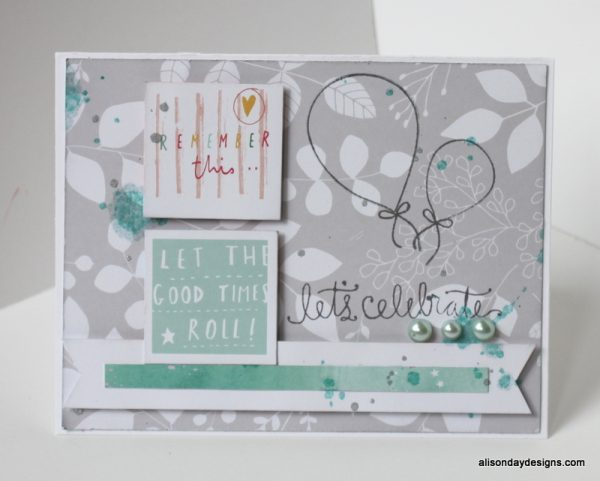 Let The Good Times Roll by Alison Day Designs