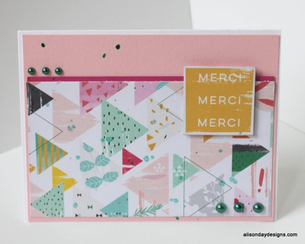 Merci by Alison Day Designs