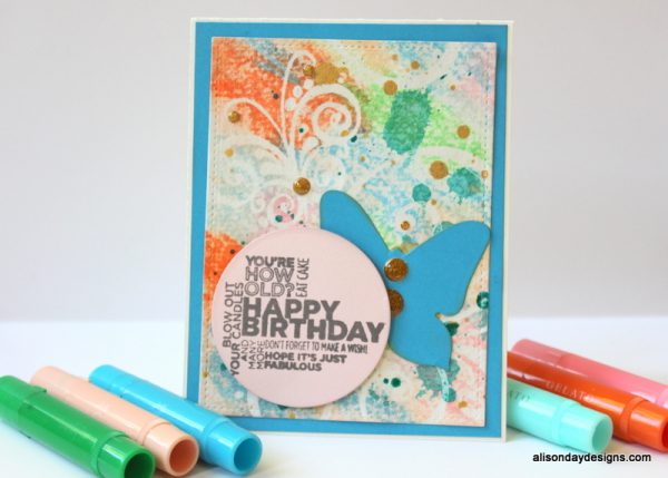 Happy Birthday to Trish by Alison Day Designs