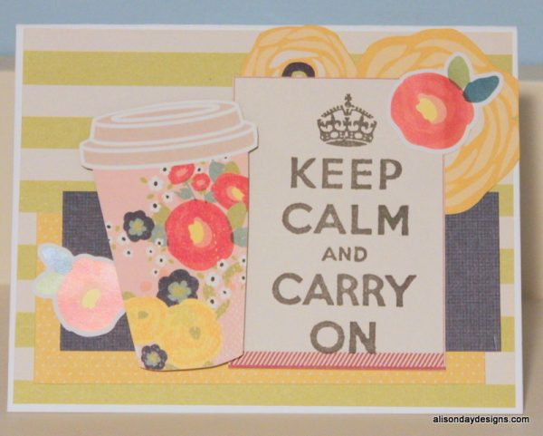 Keep Calm and Carry On by Alison Day Designs