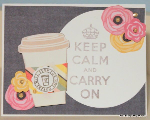Will Stop Keep Calm by Alison Day Designs