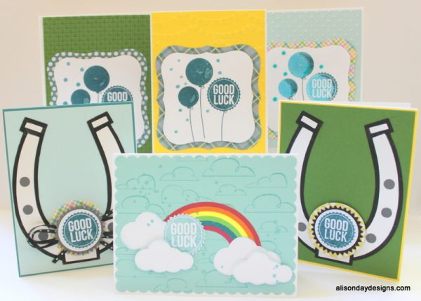 Good Luck Cards by Alison Day Designs
