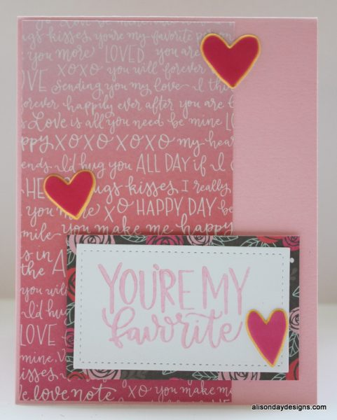 Card #1 - for Paige