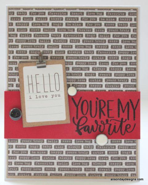 Card #2 - for Hannah