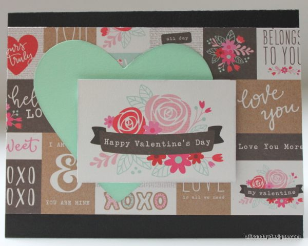 Happy Valentine's Day by Alison Day Designs