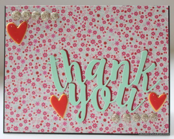 Thank You by Alison Day Designs