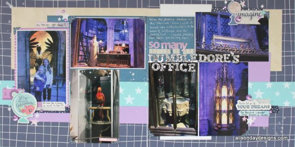 LOAD218-2 Dumbledore's Office by Alison Day - Double page spread