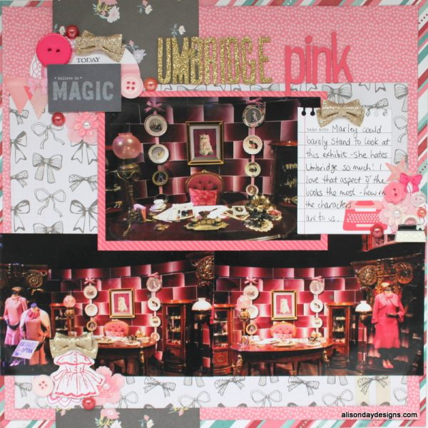 LOAD218-3 Umbridge Pink by Alison Day