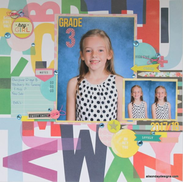Clear The Desk #1 - Grade 3 by Alison Day