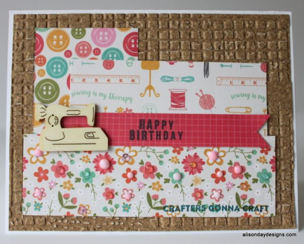 All Things Sewing Card by Alison Day