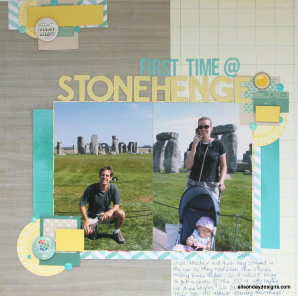 Clear the Desk #21 - First Time @ Stonehenge by Alison Day