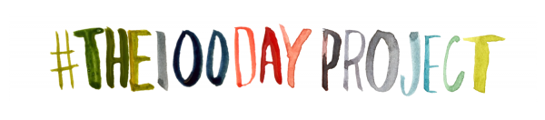 the 100 Day Project Header