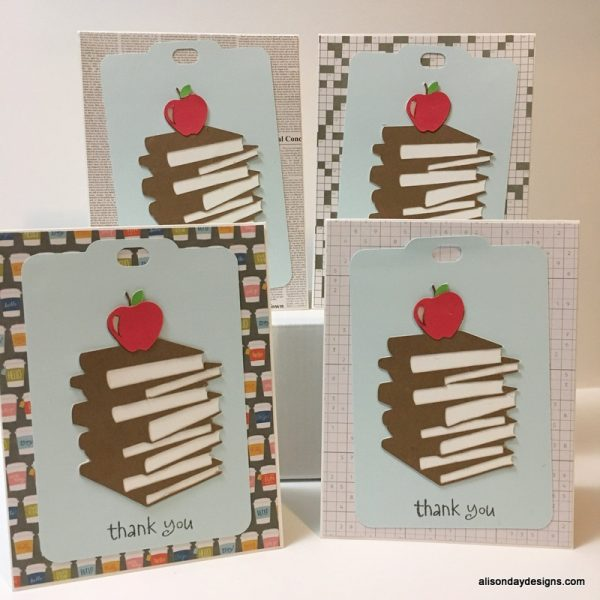 Thank You Cards for Teachers by Alison Day