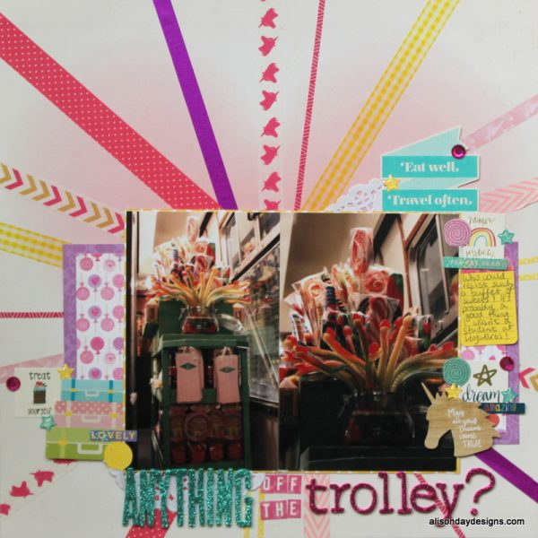 Anything off the Trolley? by Alison Day