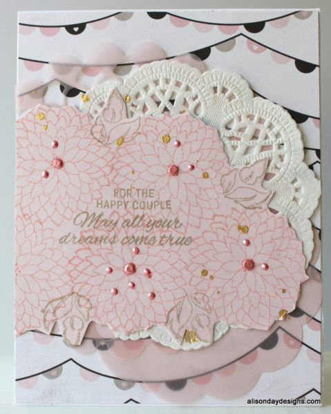Wedding card - daughter  by Alison Day