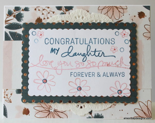 Engagement card - daughter  by Alison Day