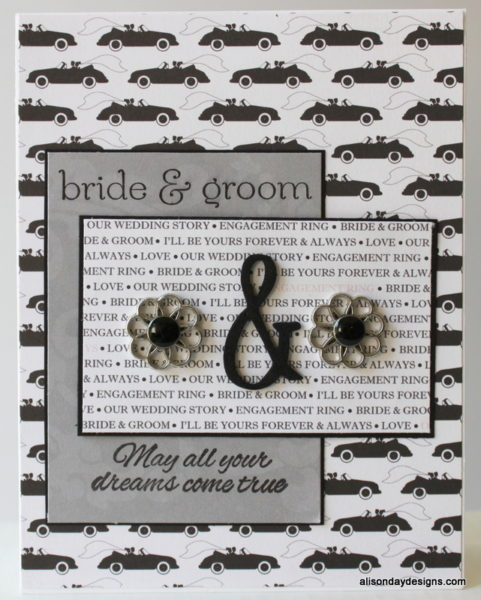 Wedding card - son  by Alison Day